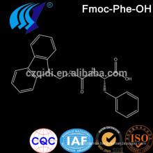 CPhI Pharmaceutical Intermediates Fmoc- Amino Acid Fmoc-Phe-OH/Fmoc-l-phenylalanine Cas No.35661-40-6