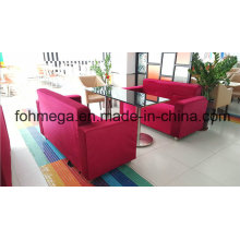 Red Fabric Restaurant Sofa Seating for Wholesale (FOH-RTC11)