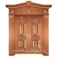 Portes de sécurité en acier inoxydable de luxe et de qualité pour la maison et le bureau