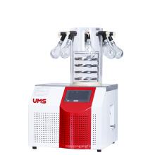 Secador 1.2L do congelador do laboratório de UTFD-10P com o 8 porto-distribuidor
