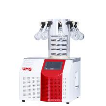 Secador de congelador de laboratorio UTFD-10P 1.2L con colector de 8 puertos