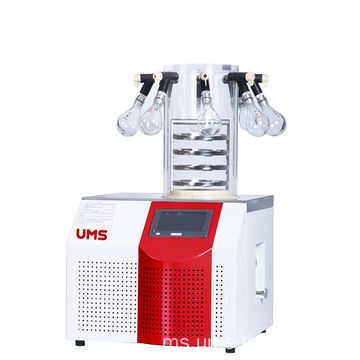 UTFD-10P Lab Freezer Dryer 1.2L dengan 8 port-manifold