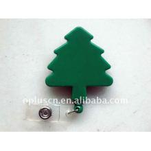 Tree Shape Retractable Badge Reel