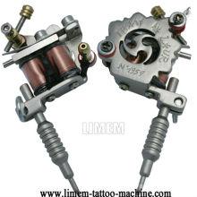 """Charms Argent Tone Mini Tattoo Machine Collier pendentif cadeau 45cm (17-3 / 4 """") argent coor"""