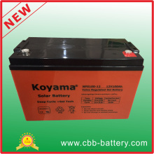 12V 100ah 3kw PV System Deep Cycle Gel Battery Nps100-12