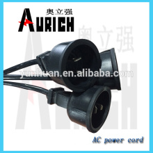 UL 125v Aviable PVC cabos