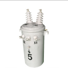 oil immersed pole mounted distribution transformer