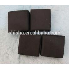 charbon de narguilé cubes à charbon de noix de coco coquille