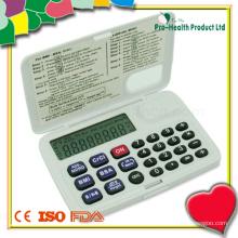 Calculadora de bolso médico multifunções