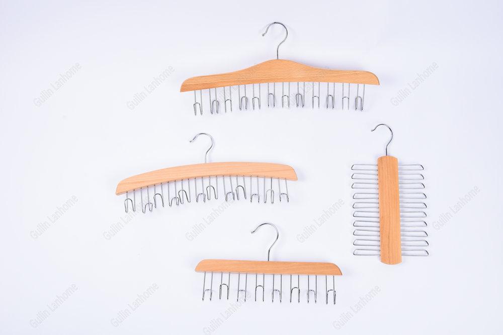 wood tie hanger