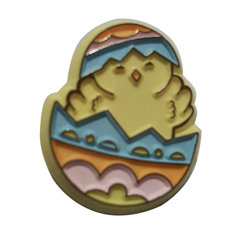 Chick In Easter Egg Vintage Hallmark Easter Pin