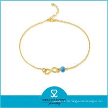 2015 beliebteste handgefertigte Silber Perlen Armband (J-0227A)