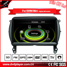 Hualingan coche reproductor de DVD de navegación GPS para BMW Mini Bluetooth MP3 / MP4 Player TV