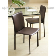 High Grade Stacking Brown Leather Restaurant Cafe Chair (SP-LC227)