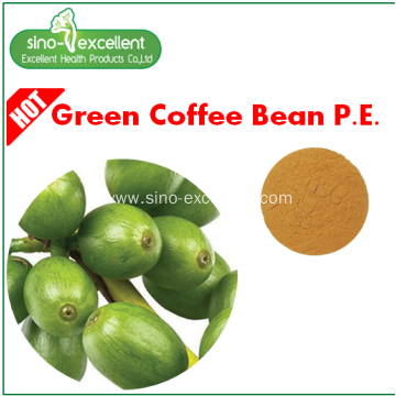 chlorogenic acids Green coffee bean extract
