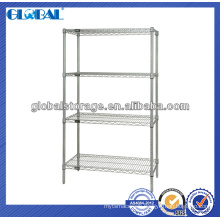 chrome wire shelf for display