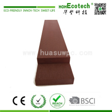 Einfache Installation Wood Plastic Synthetic Flooring
