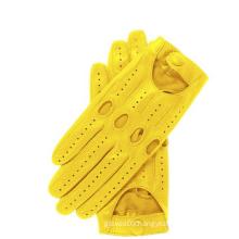 Top quality orange motorcycle glove supplier