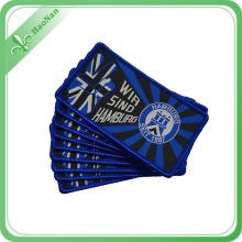 Nouveau OEM Personnalisé Divers Style Brand New Badge Tissé Professionnel