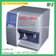 MSLAB06 Medical Hospital Vollautomatischer Blut-Hämatologie-Analysator