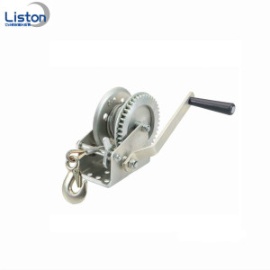 1 Ton Manuell Hand Winch With Brake