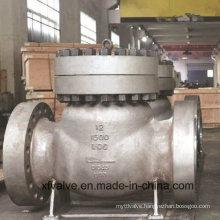 900lb/1500lb Cast Steel Wcb Flange End Swing Check Valve