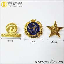 Insigne en métal fait sur commande de drapeaux de pays d'artisanat