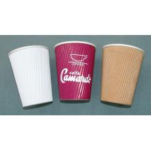 8oz 12oz Ripple Paper Cup