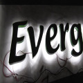 Reverse Pan LED Lit Channel Letters Signs