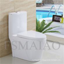 Sanitaires Wares Salle de bains Plumber Siphonic céramique One Piece Toilet (8106)