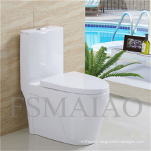 Sanitary Wares Bathroom Plumber Siphonic Ceramic One Piece Toilet (8106)