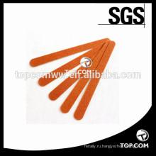 Профессиональные двухсторонние деревянные пилочки для ногтей