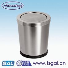 Recycling bins with swing lid