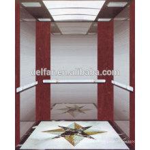 Delfar elevador residencial com boa qualidade e bela decoração