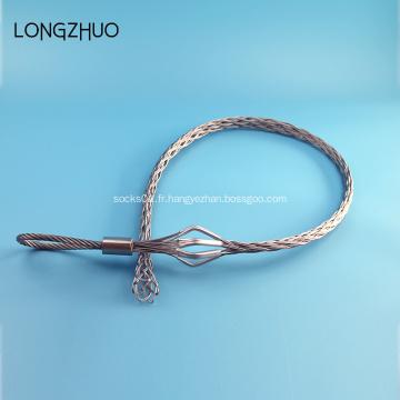 Câble en acier galvanisé tirant sur les poignées
