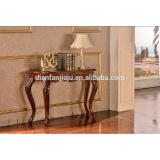 Luxury console table hand carving wooden classic style furniture