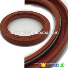 Viton PTFE / vedações de óleo de borracha Teflon FKM TC lábios vedação de óleo para peças de vedação mecânica Excvator eixo