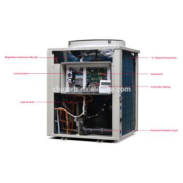 New arrival 2017 solar house air source high temperature heat pump