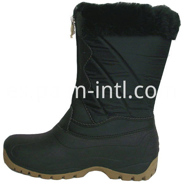 Fur Lining Snow Boots