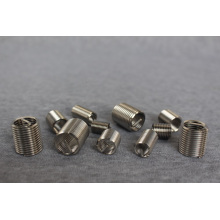 Spring wire heli coil thread inserts