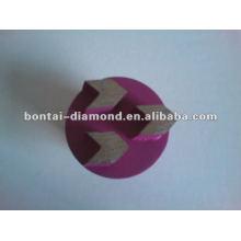 Flecha Tapones de diamante para herramientas de pavimentación epoxi