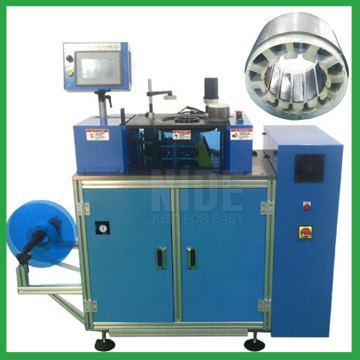 BLDC stator slot paper insertion machine
