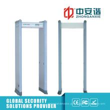 Detector de metais com moldura de porta de infravermelho dupla com infravermelho de 18 zonas