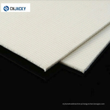 Almofada de laminação de lã branca / gel de silicone para cartão de PVC