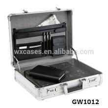 ¡Nueva llegada!!!!!! cartera de aluminio fuerte y portátil de venta caliente de la fábrica de China