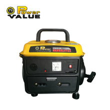 Two Stroke Recoil 650w Gasoline Portable Generator 12v