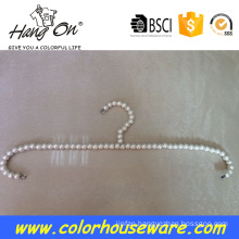 adult pearl plastic hanger for clothes hanger