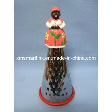 Handy Sculpture Figure Woman Kitchen Grater
