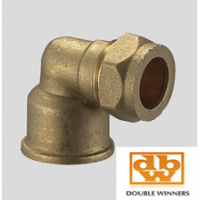 Brass Compression Fitting Female Elbow FxC