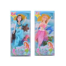 Plástico bonito meninas boneca brinquedo (h9907007)